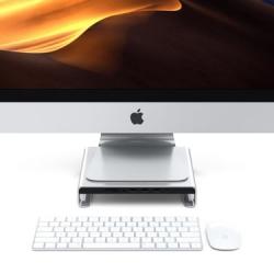 SATECHI - Support iMac avec Hub Type-C Argent