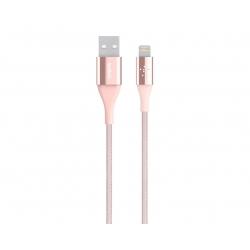 Câble Lightning vers USB MIXIT? DuraTek, 2.4A, LTG, 4'